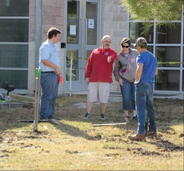 Eagle Scout completes pathway project at Cove Public Library