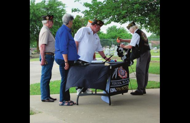 VFW to hold Memorial Day ceremony at City Cemetery Monday