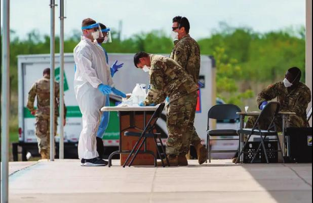 Texas National Guard deployed to get COVID-19 vaccines to older Texans who are homebound