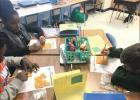 House Creek students use crackers to prepare for practice STAAR test