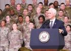 Vice President addresses troops on Fort Hood